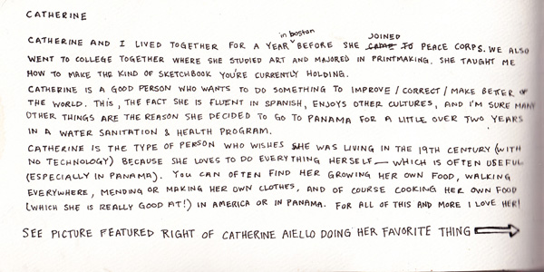 A little introduction to who Catherine is...