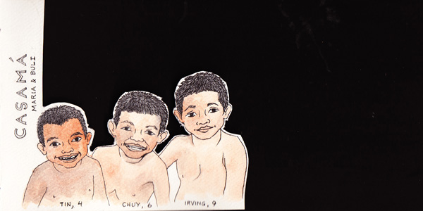 Casama. Sons of Buli & Maria, these boys are full of so much life! They are also the grandsons of Limita, and I know they will have full and interesting lives.