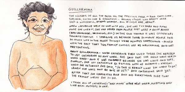 Guillermina was one of Catherine's four Embera host mothers. Read on for more about her...