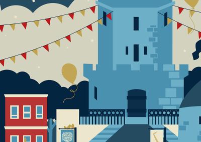 Somerville Anniversary Poster